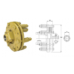 LIMITEUR A FRICTION K90 2500 1 3/8-6 80daNm PINCE - ADAPTABLE
