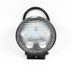 PHARE DE TRAVAIL LED ROND ( 5 LED 3W 1100 LUMEN ) / PROMO